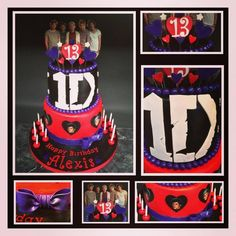 One Direction Cake(hint hint mom) giving you ideas for my bday