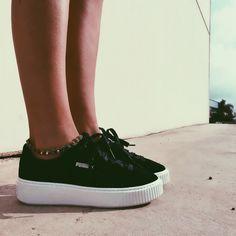 c16147bc5 Creepers serraje negro PUMA. Zapatos PumaZapatillas Puma RihannaZapatillas  De Moda MujerZapatillas ...