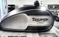 New Triumph Bonneville T100 fuel tank