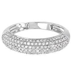Elora 14k Gold 1/2ct TDW Round Diamond Anniversary Wedding Band (H-I, I1-I2) (Yellow Gold - Size 9.5), Women's