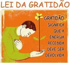Frases para Facebook - Lei da gratidão | Frases com imagens e recados para Facebook: