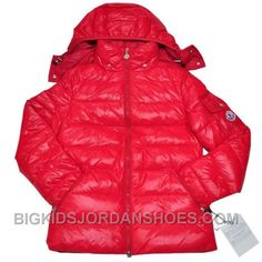 5b68fb808890cc Moncler Down Coats Kids Red Online 275859