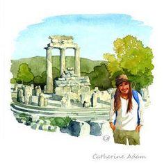 Situé sur le mont Parnasse face au golfe de Corinthe, Delphes est le deuxième site grec le plus visité après l'Acropole. C'est ici que se trouve entre autres le sanctuaire d'Apollon, le trésor des Athéniens, le temple mythique d'Apollon où la pythie prononçait les oracles - #easyvoyage #easyvoyageurs #clubeasyvoyage #terresdevoyages #travel #traveler #traveling #travellovers #voyage #voyageur #holiday #holidaytravel #tourism #tourisme #grece #greece #delphes