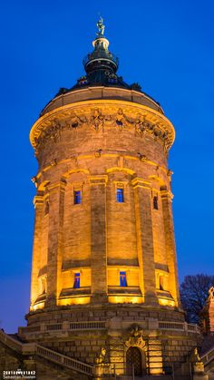 Wasserturm Mannheim   SJPhotography