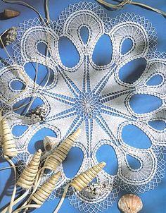 Free Filet Crochet Charts and Patterns: Filet Crochet Doily- Chart 1