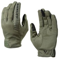 Oakley SI Worn Olive Factory Lite Tactical Glove