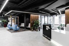 Inside XL Catlin's Modern Wroclaw Office | M3 Office