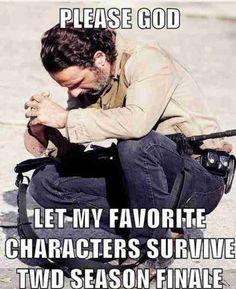 PLEASE!!!! Glenn, Rick, Daryl, Michonne, Carol, Carl & Maggie... PLEAAAAASE.