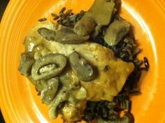 Enjoy this delicious crock pot chicken marsala - saves time, and isn't short on flavor.