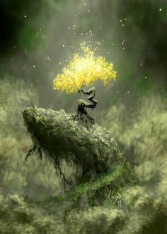 Tree of Life ~ Fire Tree by Lloyd-Blindman.deviantart.com on @deviantART