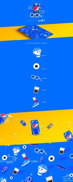 PEPSI // LIVE FOR NOW DESIGN CHALLENGE on Behance