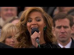 Beyonce National Anthem at Inaugural Ceremony: Inauguration 2013