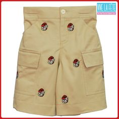 Georgia Bulldogs Embroidered Boy Shorts!