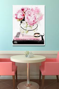 Need this for any room!  Oliver Gal Gallery Elegant Morning Canvas Art
