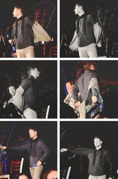 [gifset] Jensen  at #SeaCon15 #StripperJensen