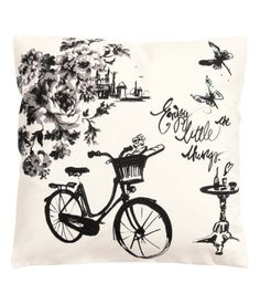 H&M - Canvas Cushion Cover - White from H&M. Saved to Eu Quero! Shop more products from H&M on Wanelo.