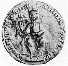 Picture of the Empress Matilda's Great Seal 1141 Queen of England and Anjou. Uk History, Family History, English Monarchs, High Middle Ages, William The Conqueror, Holy Roman Empire, Plantagenet, Story Of The World, Roman Emperor