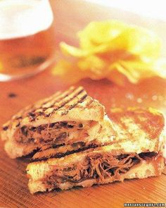Grilled Cheese with Pulled Short  Ribs Recipe