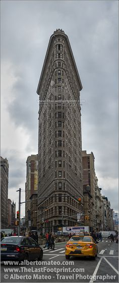 Flat Iron Builidng, Manhattan, New York, Manhattan, New York. | By Alberto Mateo, Travel Photographer.