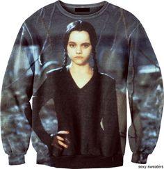 Wednesday Addams Sweater