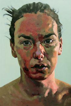 """Saatchi Online Artist: Hanjo Schmidt; Acrylic, 2005, Painting """"Scratched"""""""