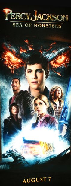 Poster: Percy Jackson e o Mar de Monstros (Sea of Monsters)