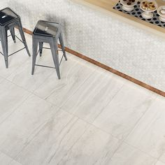 No 1676 White Porcelain stone effect series