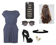 """""""simple"""" by hudzshaik on Polyvore featuring Dorothy Perkins, Pleaser, Illesteva, Bling Jewelry, ASOS and ban.do"""