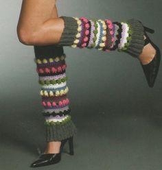 crochet leg warmers   FREE CROCHET LEG WARMER PATTERN   Crochet and Knitting Patterns