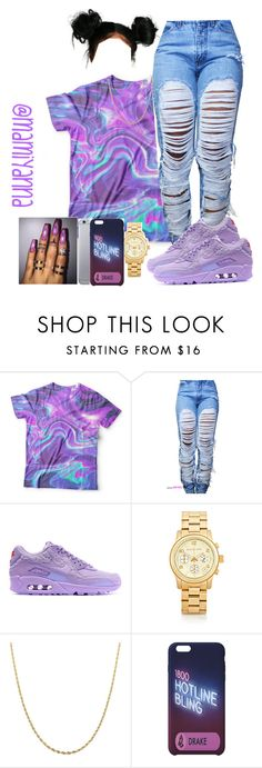 """Deserve Better - Kehlani "" by mamiyanna ❤ liked on Polyvore featuring NIKE, Michael Kors and Fremada"