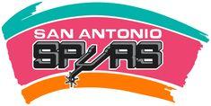 Spurs logo circa 1990's