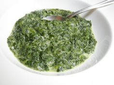 Good Things by David: Creamed Spinach