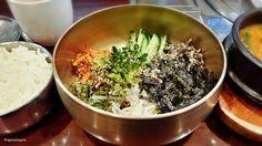 비빔밥, Bibimbab Today's choice, bibimbab ! Colorful veggies are served in brassware so good. Let's mix and eat ~   Yeah~ 놋그릇에 비빔밥 나물이 한가득! 맛있게 비벼보아요~   #bibimbab #Koreafood