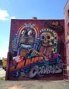Detroit Rock City  Back in the Motor City. Together with NYCHOS. Thanx To Revok, 1XRUN and Matt for making this happen and giving us such good time there! Big ups also to RIME for being a fun bloke!  Detroit Rotten City!