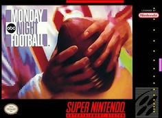 Pining for the Days of Weird Video Game Football Football Box, Monday Night Football, Game Boy, Xbox One, Arcade, Playstation, Dream Cast, Retro Game, Super Nintendo Games