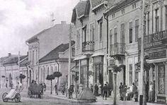 Evangélikus templom,Agrár Bank,Szálloda és Vendéglő,1905. Street View, Painting, Google, Art, Painting Art, Paintings, Kunst, Paint, Draw