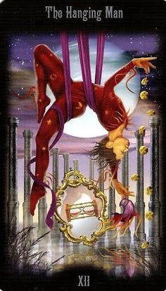 XII .The Hanged Man - Legacy of the Divine Tarot by Ciro Marchetti