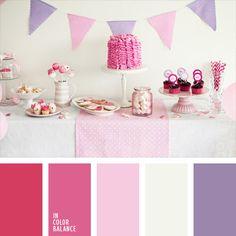 color frambuesa, color fucsia, color malva, colores para decorar una boda, colores suaves para una boda, combinación de colores para boda, de color malva, de color violeta, paleta de colores para una boda, paleta de colores para una velada, rosado fuerte, rosado pálido, rosado y violeta,
