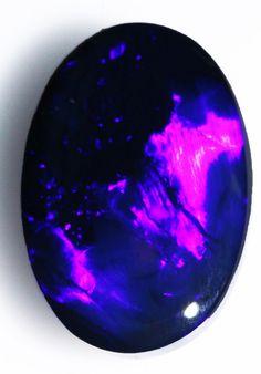 Black Opal Stones 16.2 x 11 x 5mm 5.8 carats Auction #584904 Opal Auctions