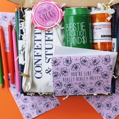 Care package for your bestie!