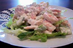 Low Carb Shrimp Salad with Aioli Mayonnaise. Photo by jrusk