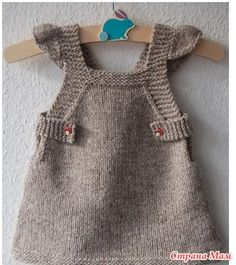 *Подборочка сарафанов для девочек спицами - Вязание для детей - Страна Мам