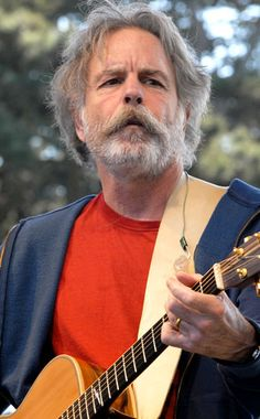 """bob weir, met the guy and talked for 30 minutes asking him a bunch seeing him play on stage for years as I thin about how good the"""" Grateful Dead """" was it brings me tears"""
