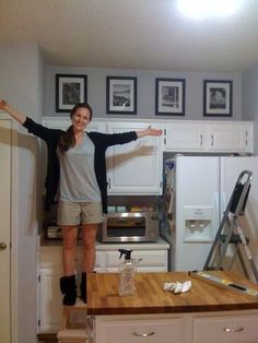 nice How to Decorate on Top of Kitchen Cabinets @ Makeover.House - Transform Your Living Space