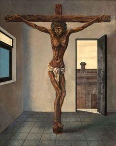 Cristo en el departamento Antonio Berni MNBA