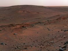 Husband Hill in Gusev Crater, Photo Taken by Mars Expedition Rover Spirit, April 13, 2005