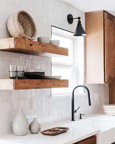 Home Decor Kitchen, Kitchen Interior, New Kitchen, Home Kitchens, Room Kitchen, Kitchen Ideas, Dining Room, Küchen Design, House Design