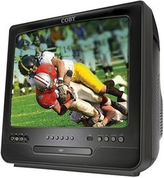 #COBY TFDVD390 3 COLOR CRT TV  DIGITAL