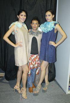 Resistance - Beehave. Julianus pemberien. #backstage #fashionshow #trendforecasting #indonesiafashionweek2015