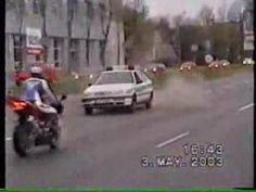 Nasza bardzo inteligentna policja i motocykl
